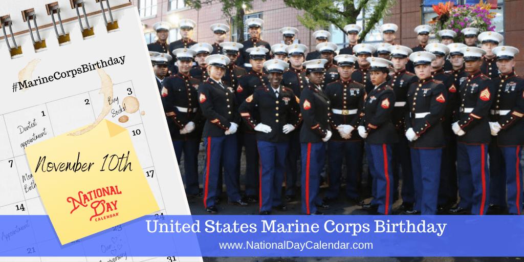 Today we celebrate the USMC's birthday. Tag a Marine to