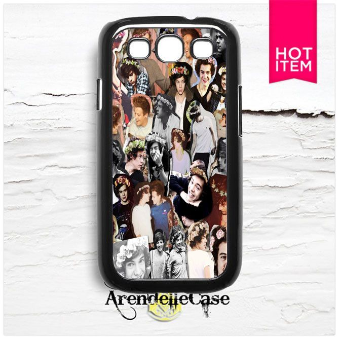 One Direction Harry Styles Collage Samsung Galaxy S3 Case