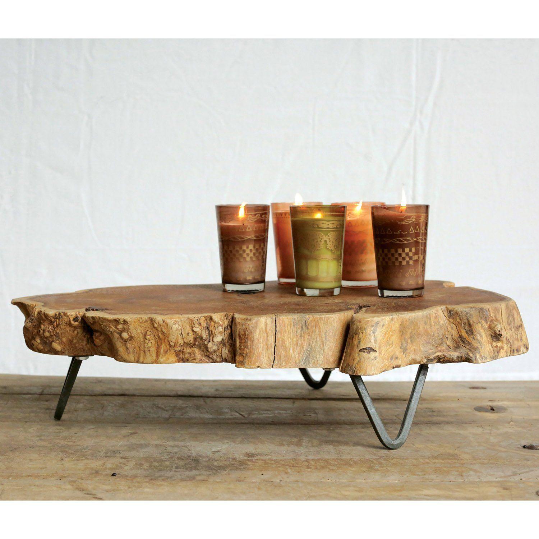 Brent Raw Edged Wood Slab Tray In 2021 Wood Slab Wood Furniture Diy Wood Table Design [ 1500 x 1500 Pixel ]