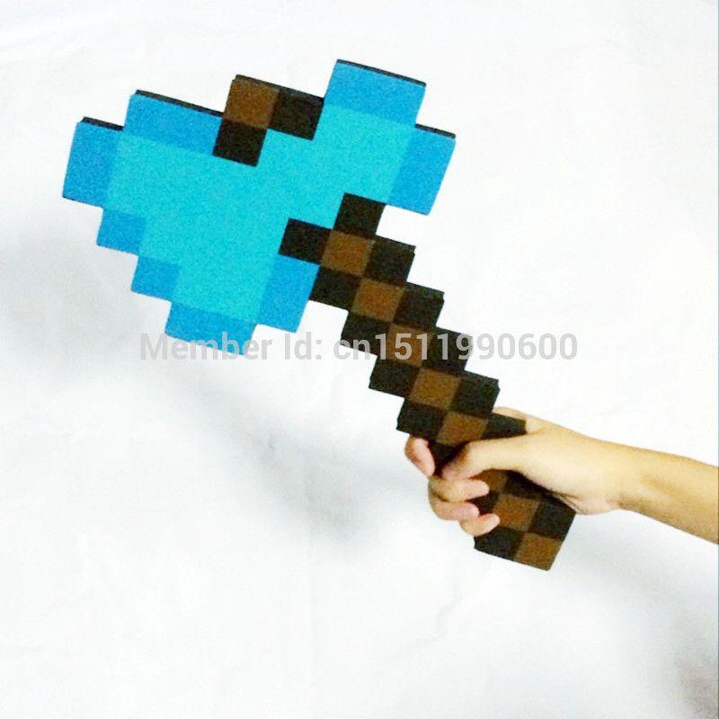 Stück Schaumstoff Minecraft Axt Schwert Pickaxe Meiner Kleinen - Minecraft spiele fur kinder