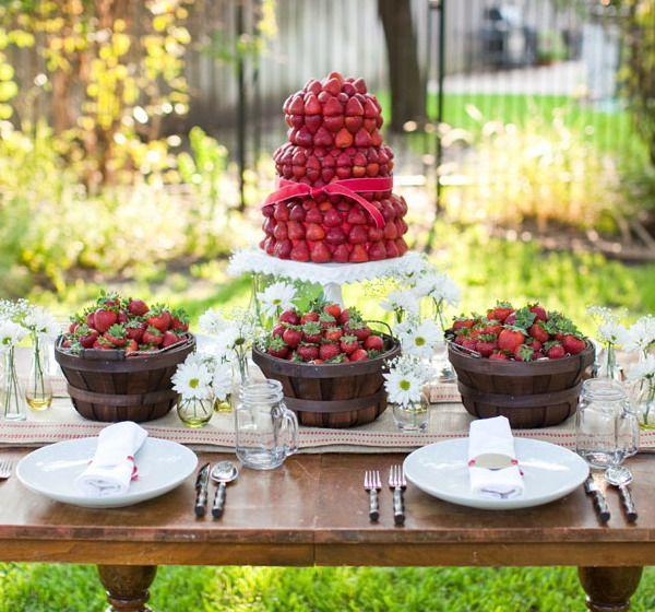 Strawberries Garden Pinterest Summer garden, Summer parties
