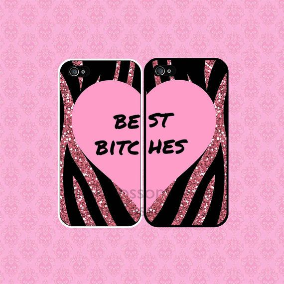 Best Bitches iPhone Case  iPhone 4 Case  by pinkblossomdesign, $21.99