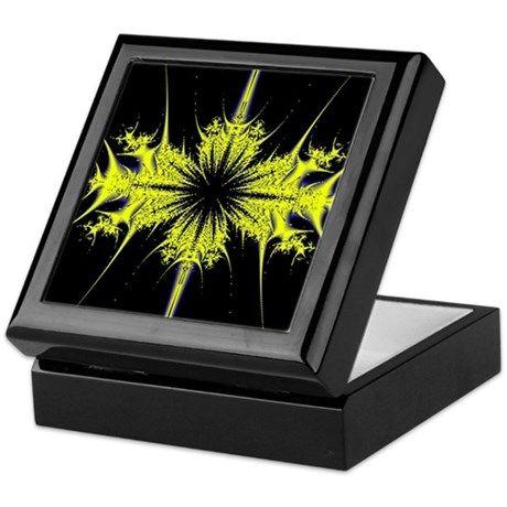 Gold Start Design Keepsake Box