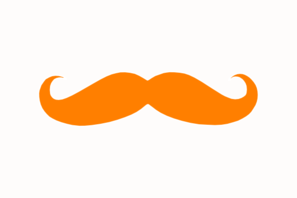 Orange Mustache Clip Art Clip Art Vimeo Logo Online Art