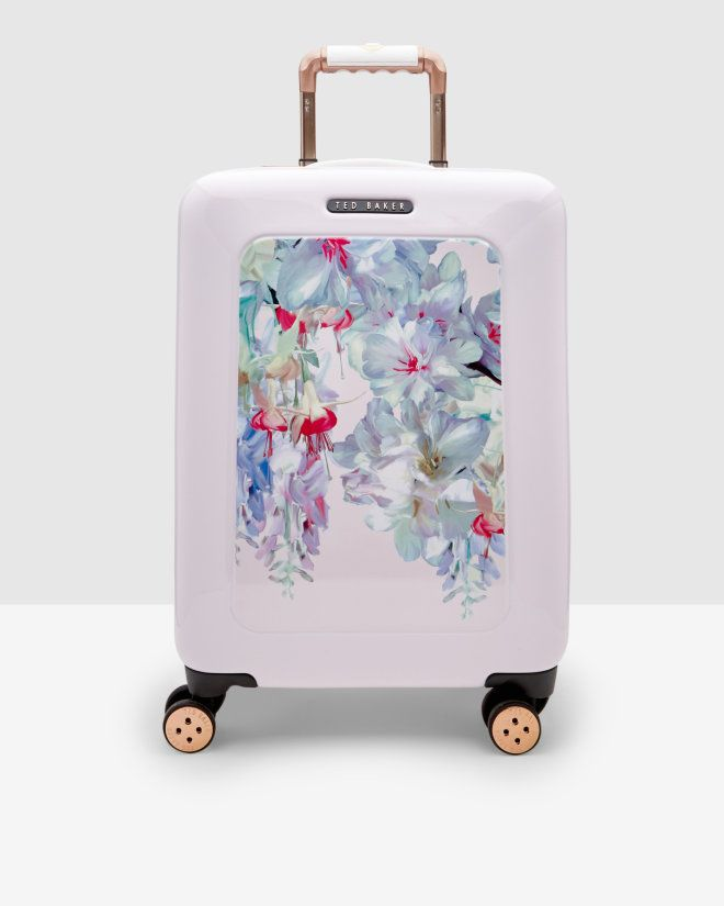 Hanging Garden large suitcase - Nude Pink | Bags | Ted Baker UK ...