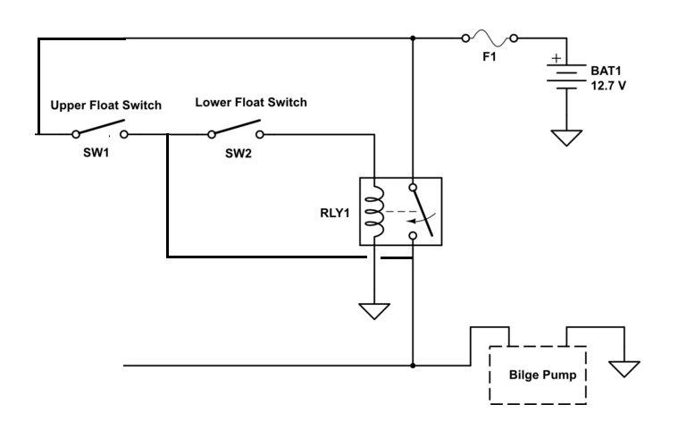 Float Switch Wiring Diagram Boat Residential Electrical Symbols
