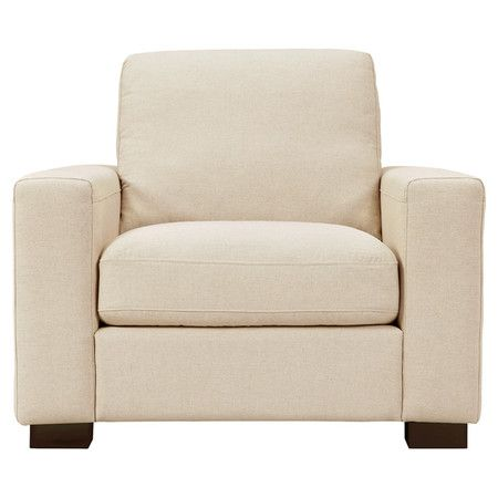 Cooper Arm Chair in Oatmeal Linen