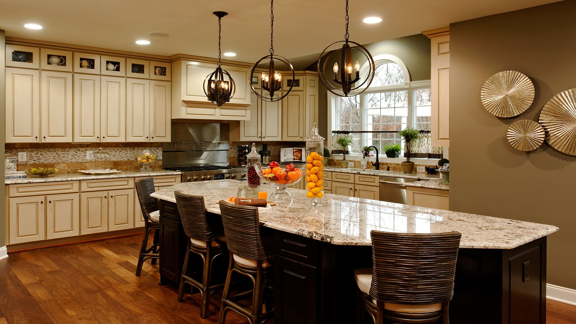 Toll Brothers - Kitchen Gallery | Kitchen gallery, Kitchen ...