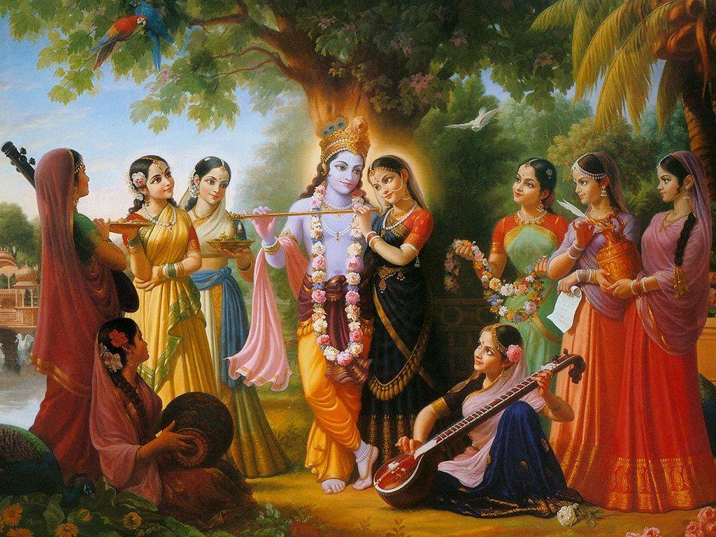 Radha krishna raslila wallpaper download radha krishna for Mural radha krishna