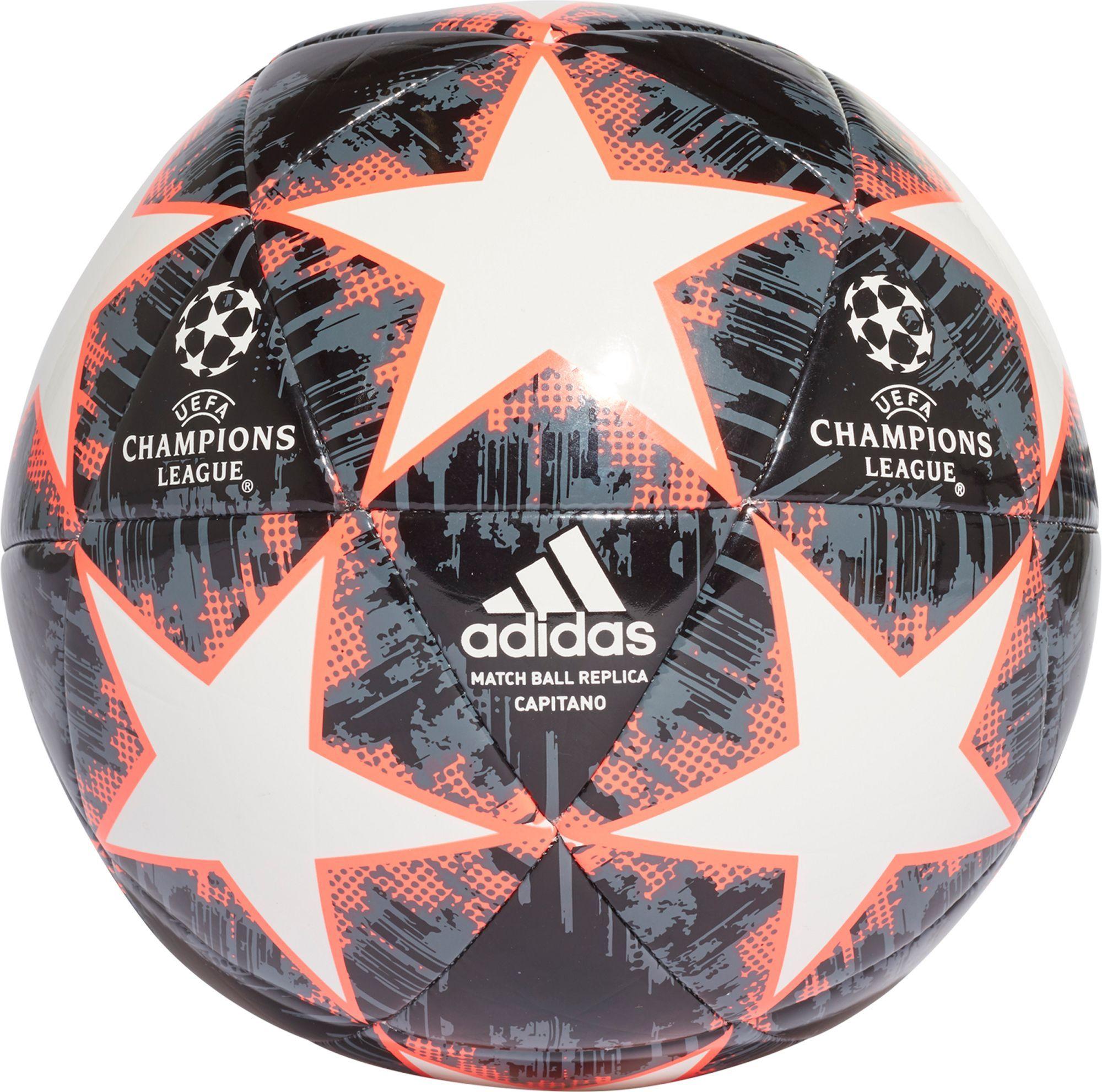 Adidas Uefa Champions League Finale Capitano Soccer Ball White Soccer Ball Ball Uefa Champions League