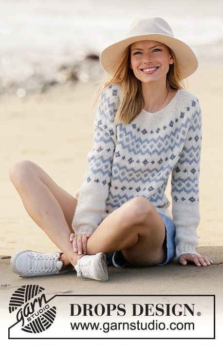 River Challenge / DROPS 210-1 - Free knitting patterns by DROPS Design