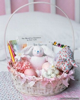 Classic childs easter basket easter gift baskets basket ideas create an easter basket your child will treasure long after the edible treats inside are gone include books with person note written inside negle Gallery