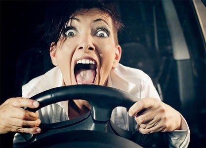 Image result for crazy woman driving