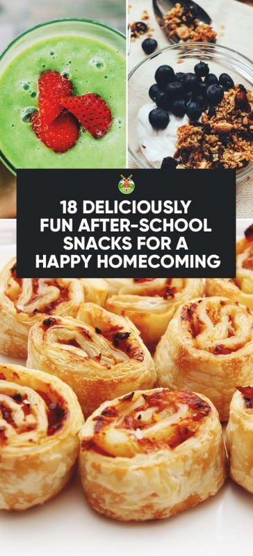 18 Deliciously Fun After-school Snacks for a Happy Homecoming images