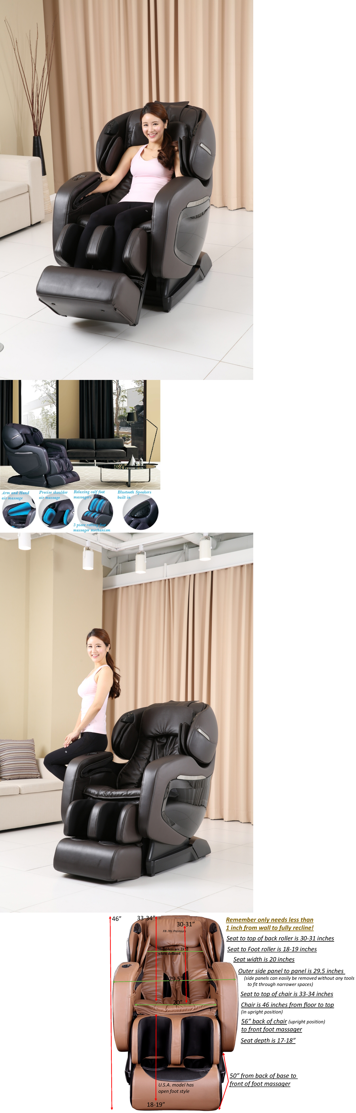 Electric Massage Chairs 2017 Forever Rest Fr 7K Premiuim L Track