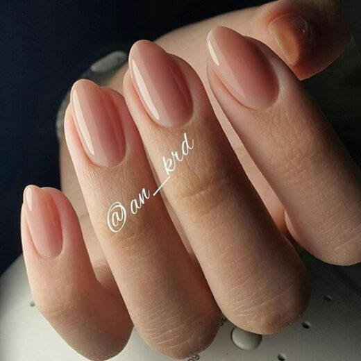 50 The Most Popular Fascinating Flesh-Colored Nails For Christmas - 24