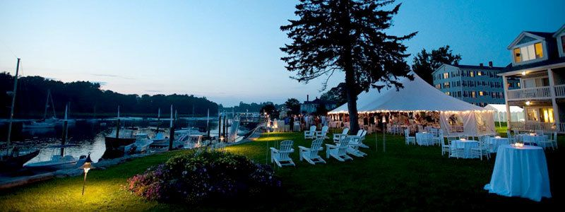 Beautiful Luxury Wedding On The Kennebunk River Waterfront In Kennebunkport Maine