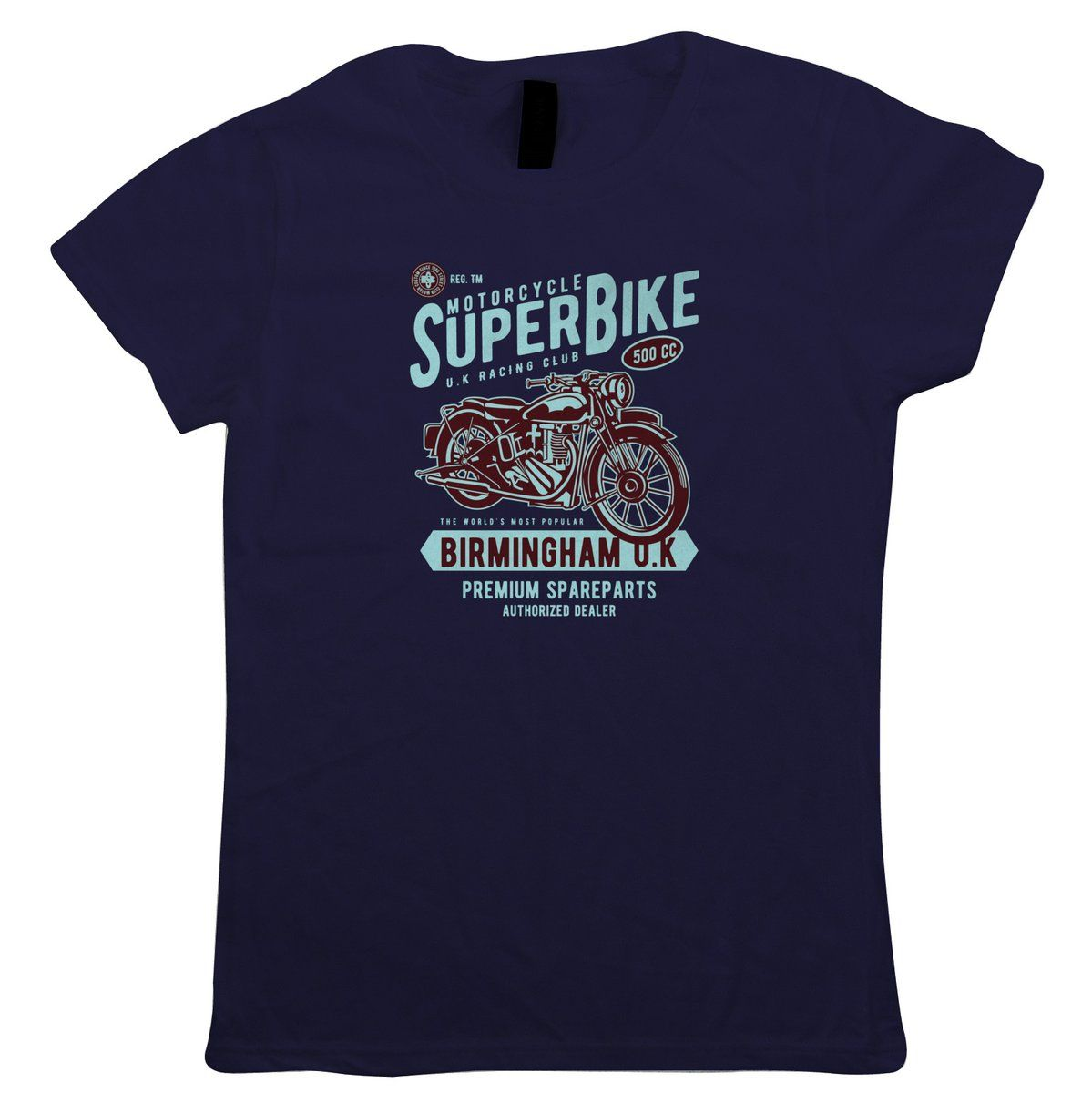 Super Bike Womens T-Shirt – Motorbikes Gift Her Mum