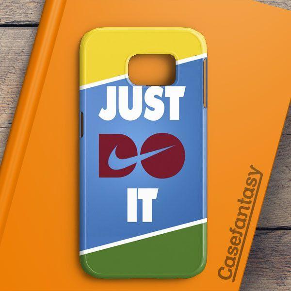 Just Do It Aztec Pastel Samsung Galaxy S6 Edge Case | casefantasy