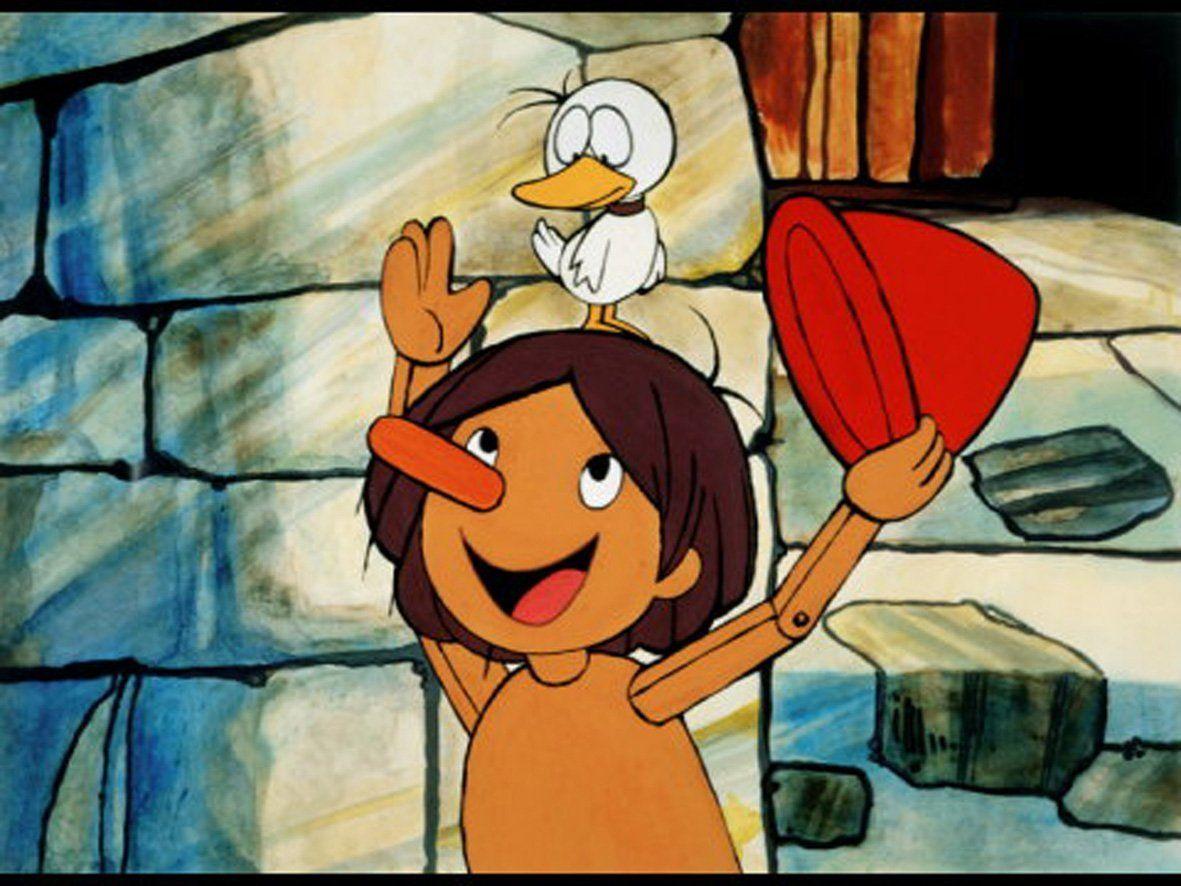 Pinocchio tv series cartoon pinocchio in pinocchio