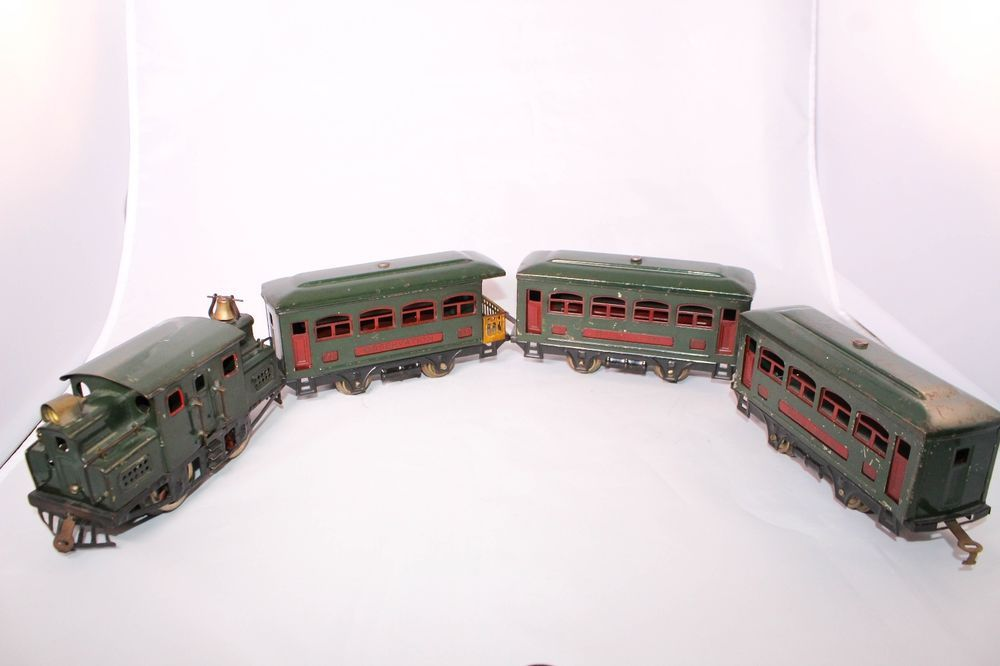 Early Vintage Pre War Lionel Train Set 152 Loco 2 629