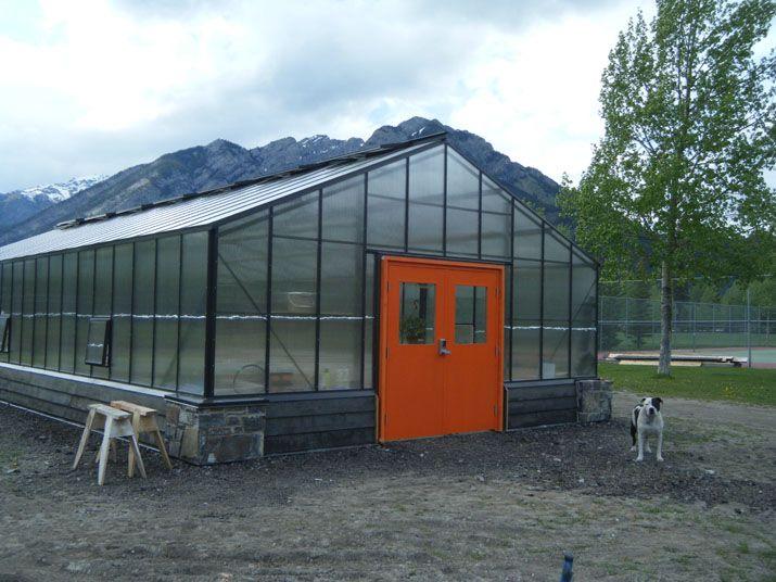 Orange Door Traditional Greenhouse Commercial Greenhouse Traditional Greenhouses Orange Door