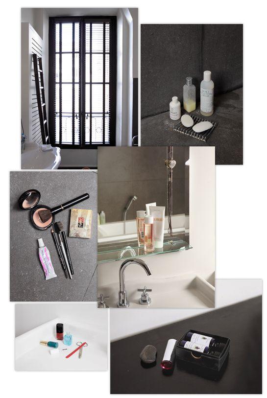 dans la salle de bain de sarah lavoine beaut wishlist beauty wishlist pinterest salle de. Black Bedroom Furniture Sets. Home Design Ideas