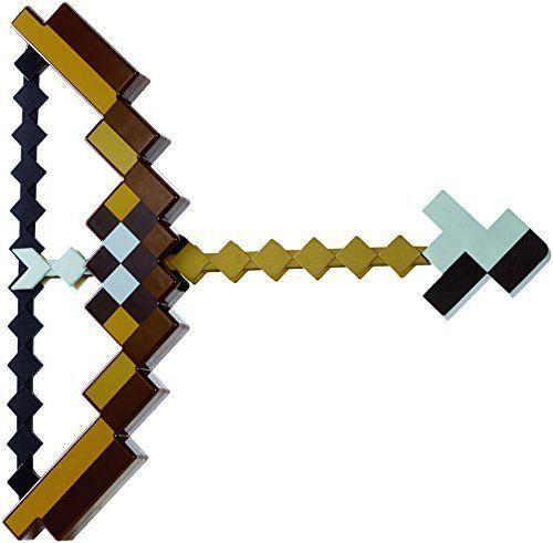 Minecraft Bow Arrow Set #Mattel