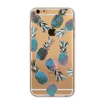 Cover For Iphone 6 6s Plus 5 5s SE New Delicious Watermelon Cherry pineapple fruit Pattern TPU Soft Phone Back Case Capa