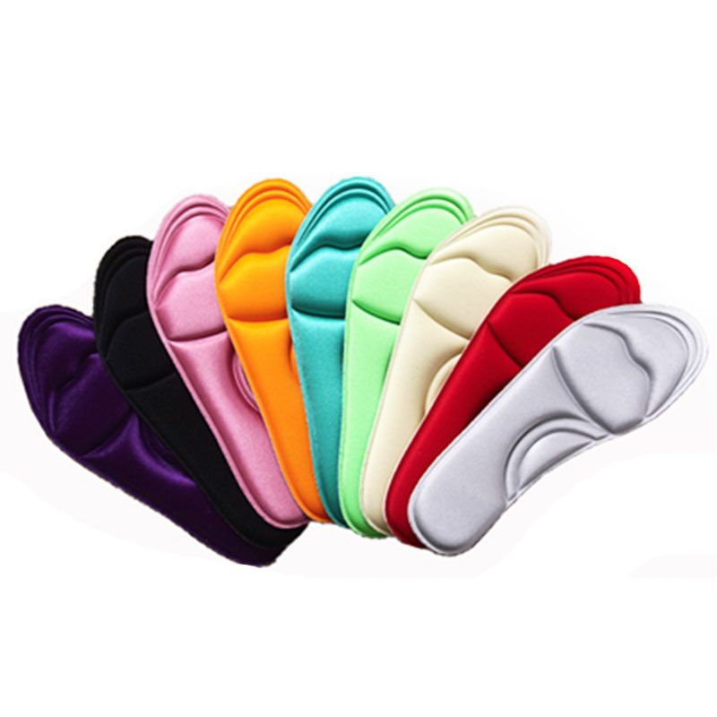Memory Foam Unisex Breathable Shoe Insoles Pads Trainer Foot Feet Comfort Heel