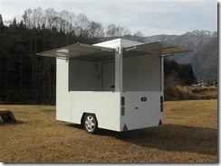 移動販売用ハイブリッドトレーラー 一般トレーラー 移動販売 トレーラー キッチンカー