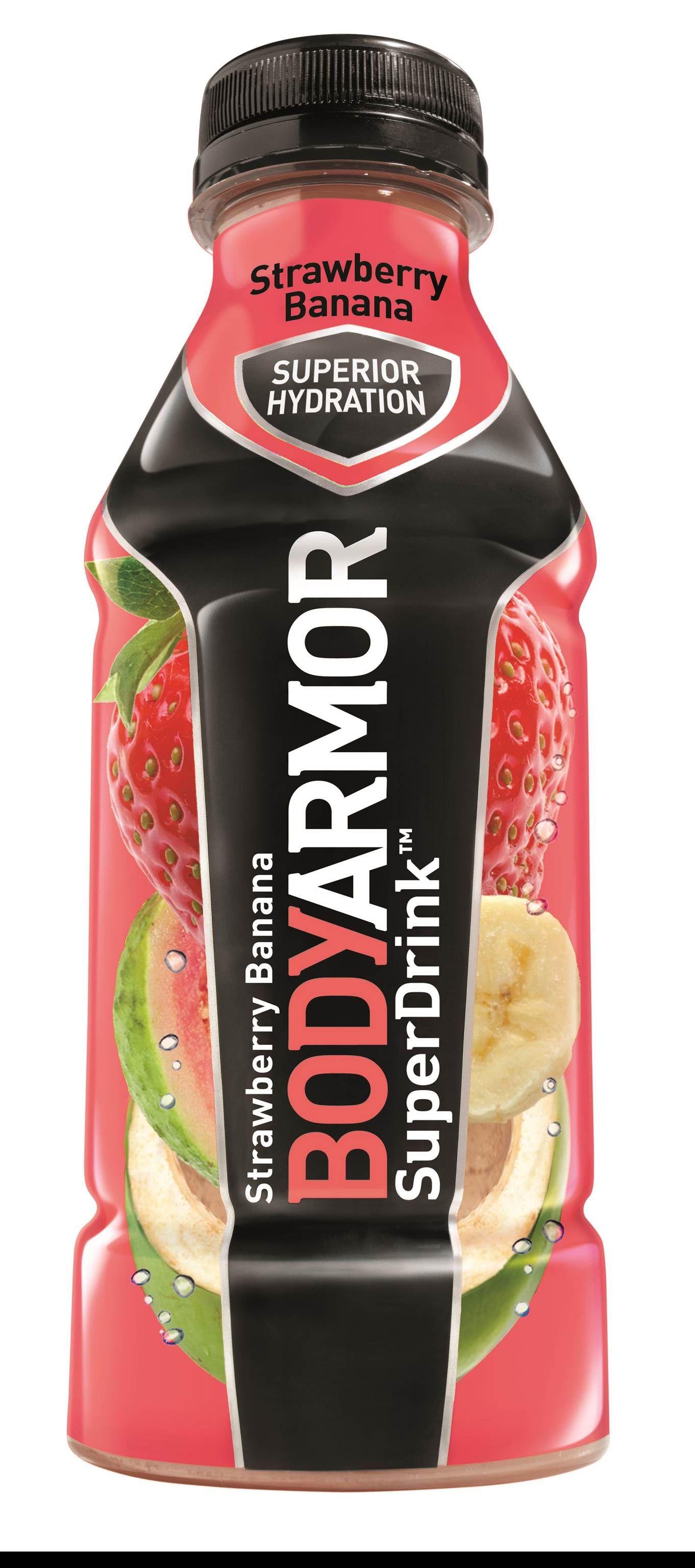 Strawberry Banana BODYARMOR Natural SportsDrink Sports