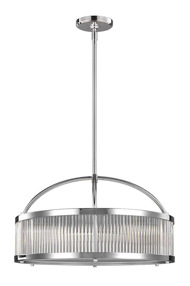 Paulson 3 - Light Pendant by Feiss: Features vintage-inspired ...