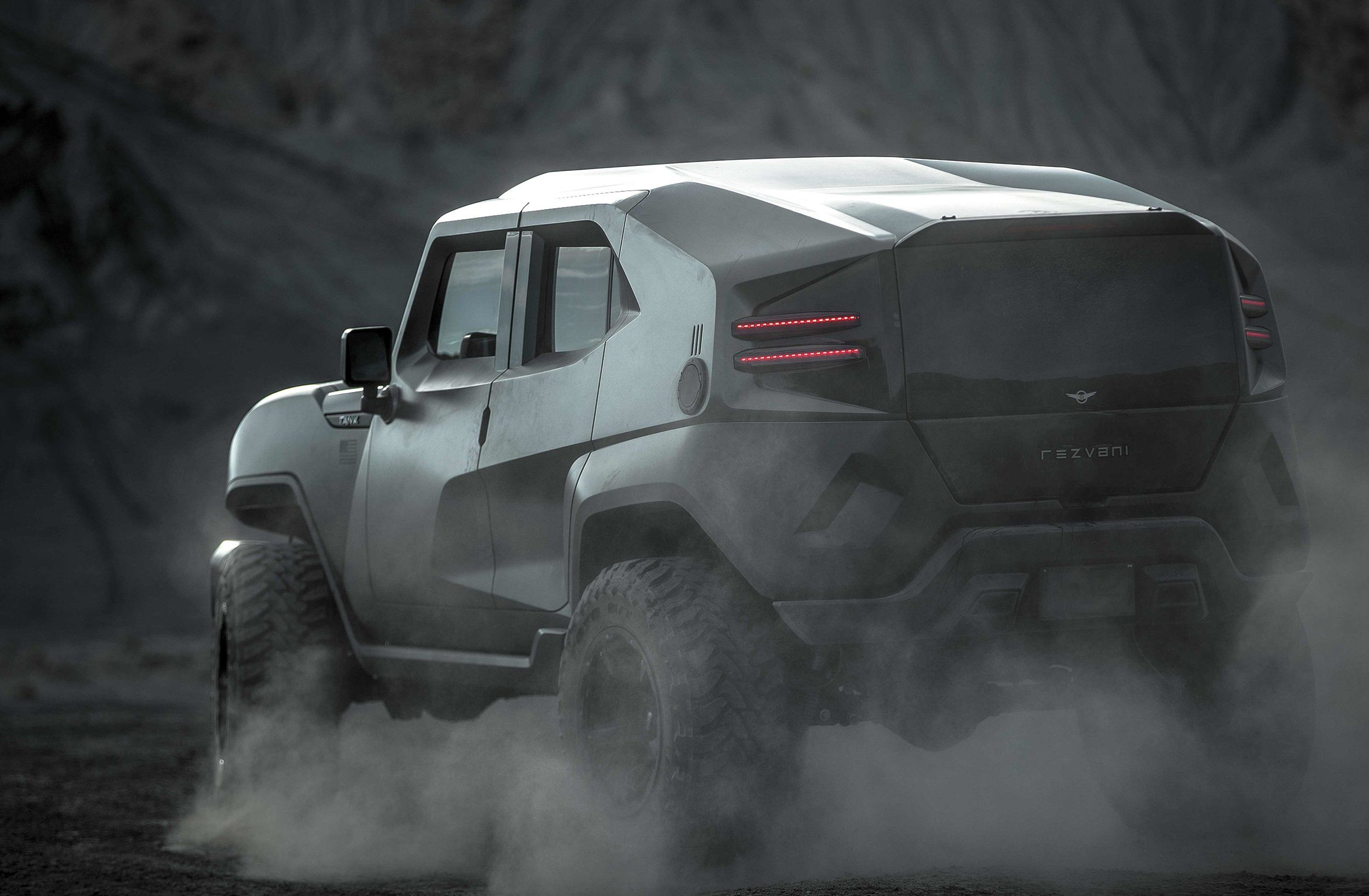 Rezvani Tank X Image Jpg Futuristic Cars Hellcat American Motors