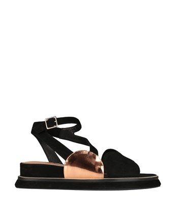 DRIES VAN NOTEN Suede Sandals. #driesvannoten #shoes #sandals