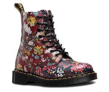 Floral Clash Kollektion Official Dr Martens Store De Doc Martens Stiefel Dr Martens Stiefel Blumen Stiefel