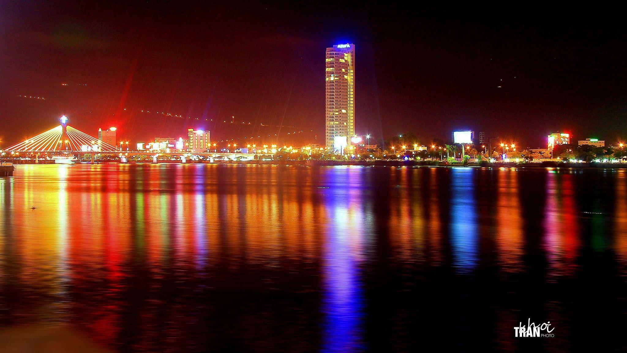 Da Nang city at night by Khoi Tran Duc on 500px | City ...