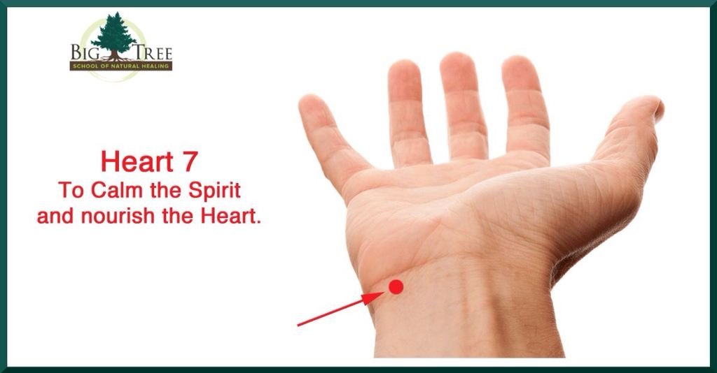 Heart 7 (With images) | Acupressure treatment, Acupressure ...