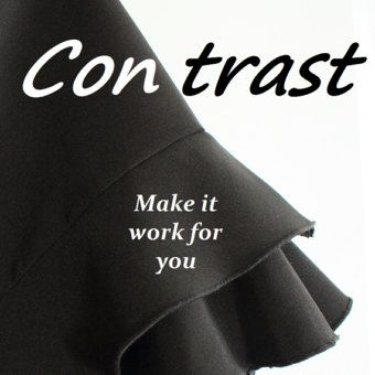 Contrast is for All Great blog about modest dress and feeling good about the way you dress