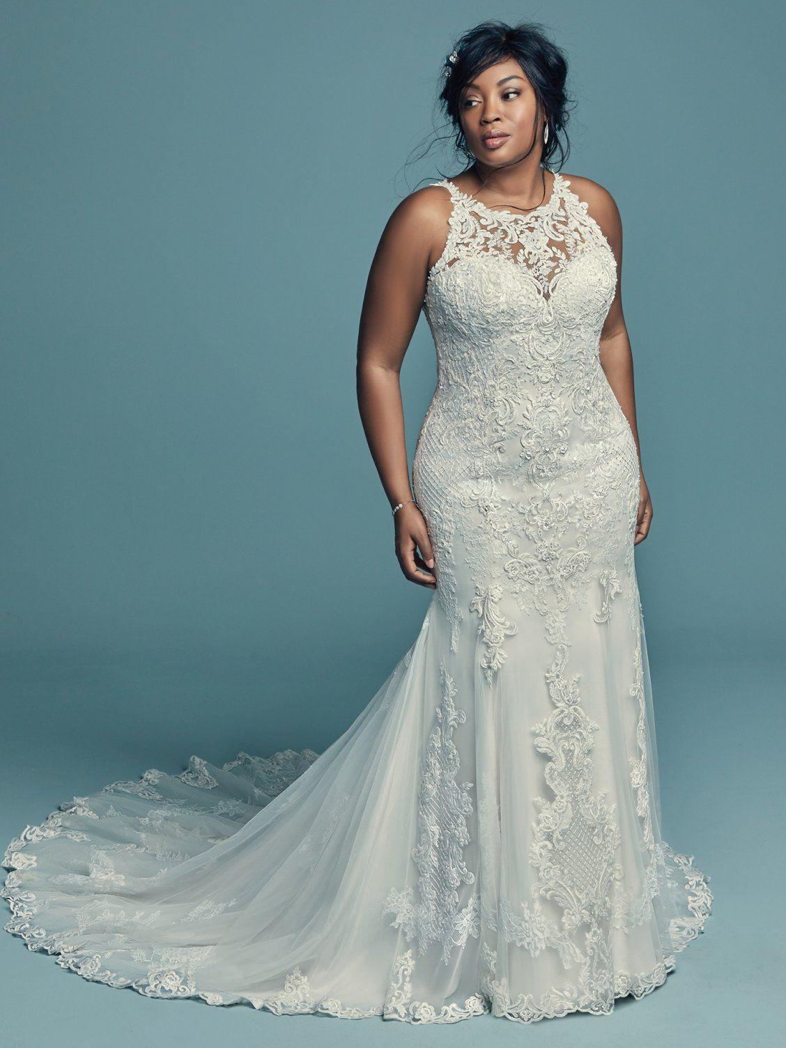 Kendall Lynette By Maggie Sottero Wedding Dresses And Accessories Sottero Wedding Dress Bridal Gowns Mermaid Plus Wedding Dresses [ 1504 x 1128 Pixel ]