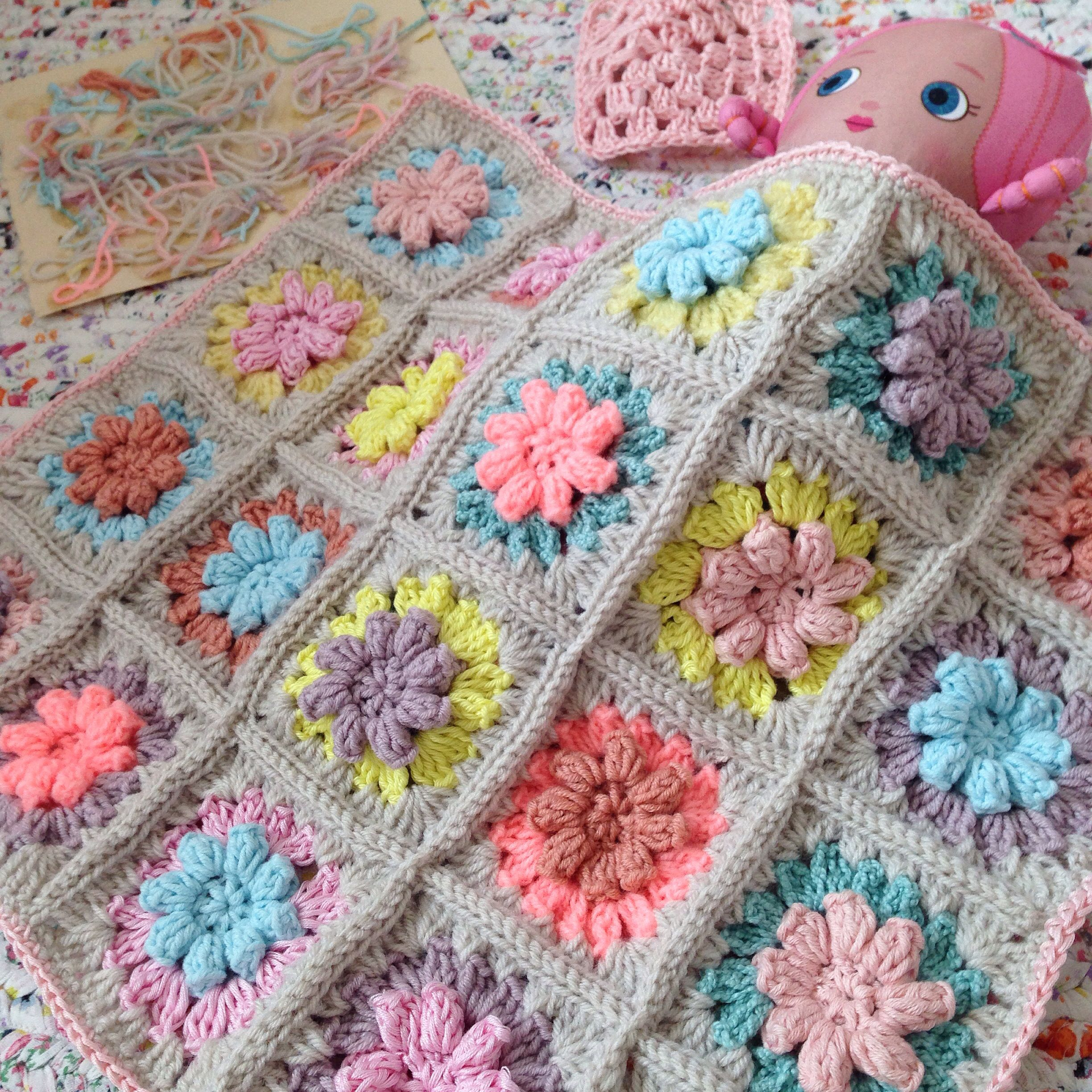 Bubblegarm Doll Blanket Pinterest Crochet Colchas Y