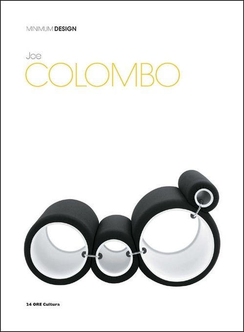 "Joe Columbo   cover ""Minimum Design"""