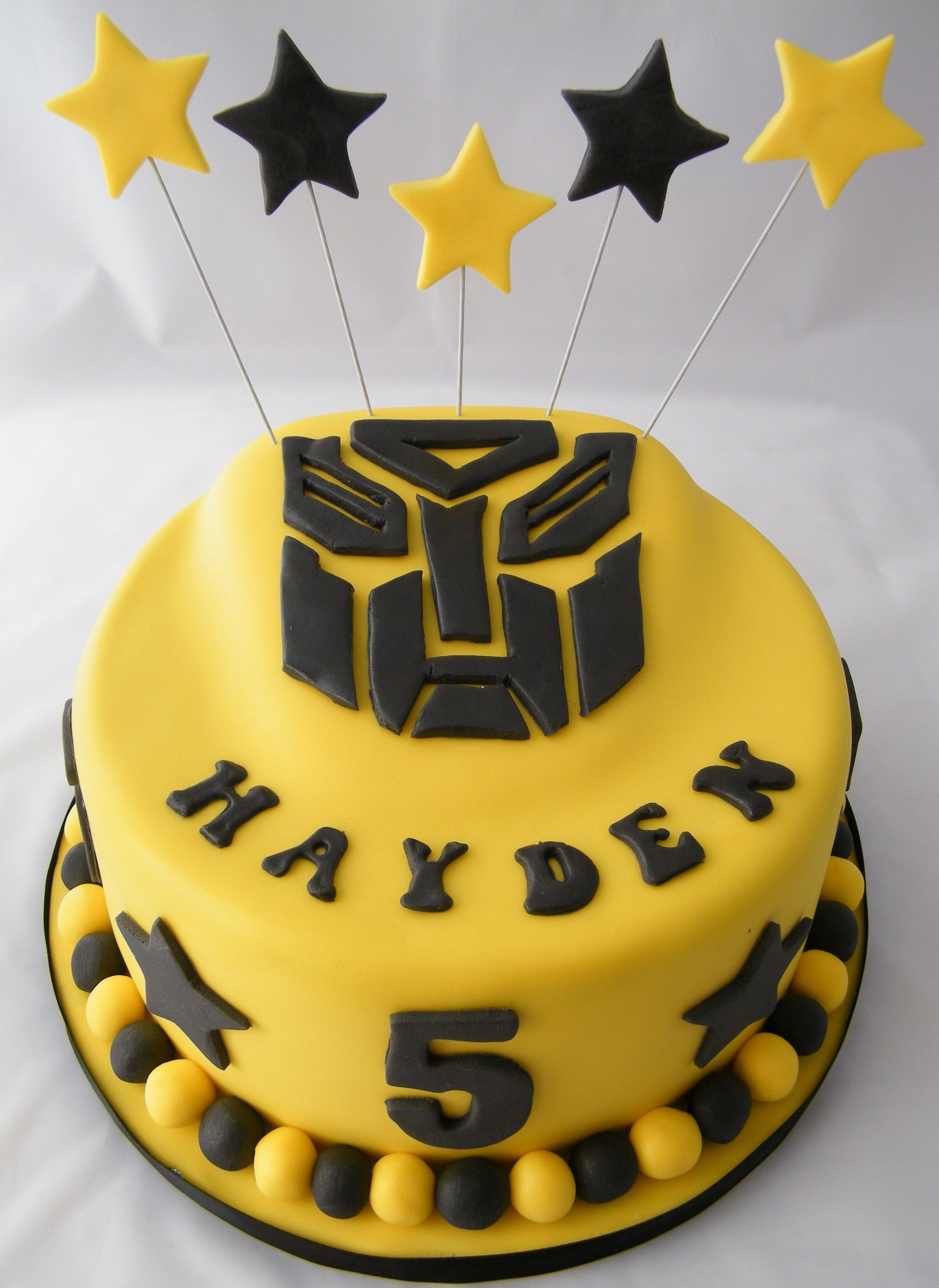 Transformers Birthday Cake Cool Birthday Cakes