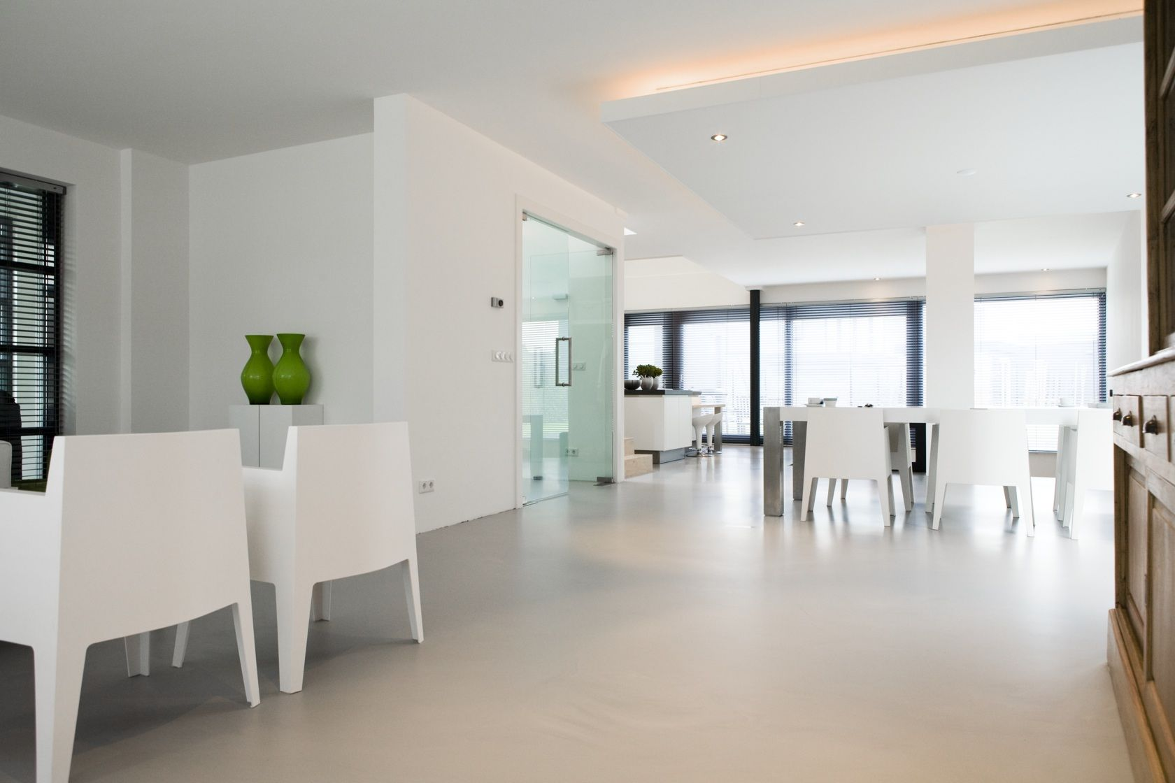 Resin Flooring Kitchen Senso Gietvloer Gietvloernl Senso Gietvloer Woonhuizen