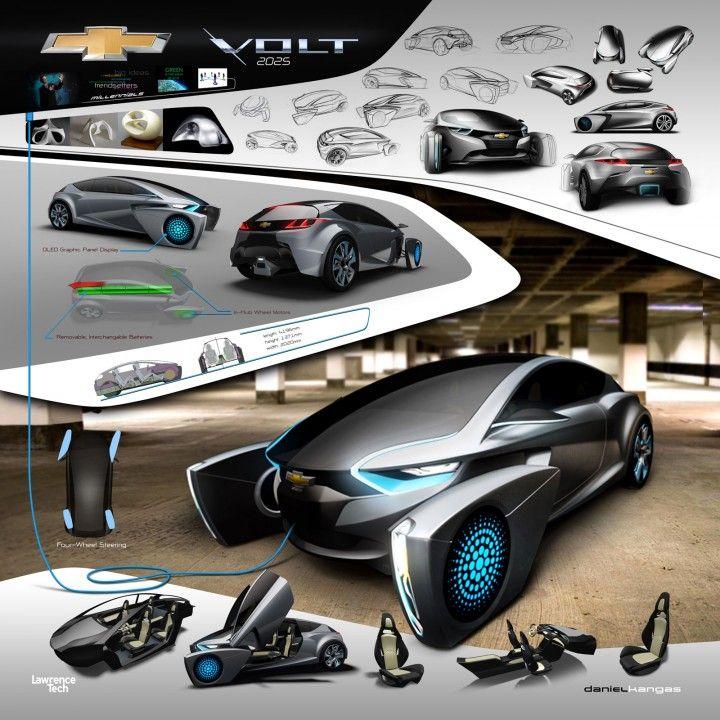 2025 Chevrolet Volt Concept Project By Daniel Kangas