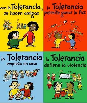 16 De Noviembre Dia Internacional De La Tolerancia Dia De La Paz Educacion De Valores Declaracion De Los Derechos Humanos