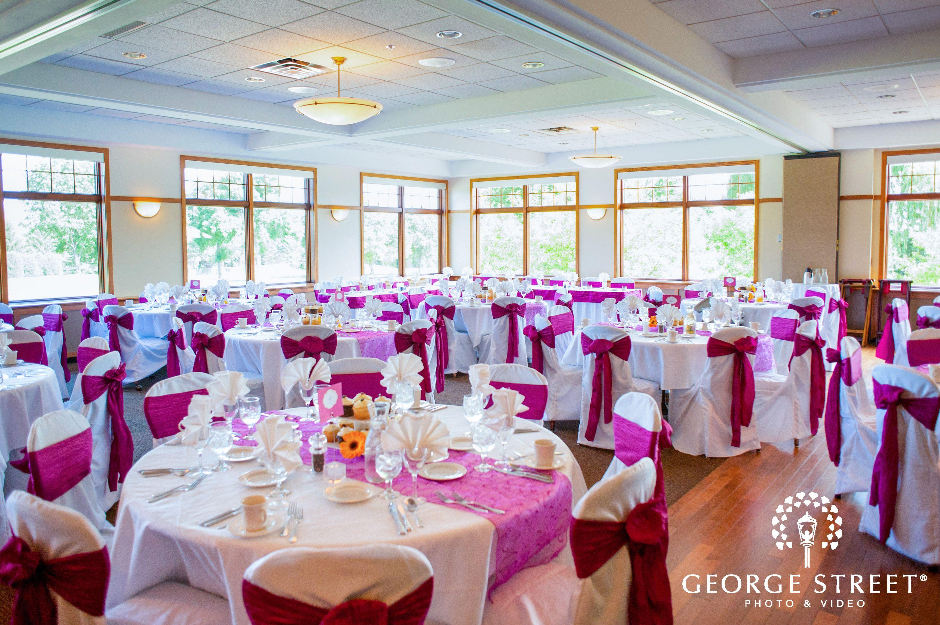 Fall wedding reception decor  Olympic Hills Golf Club  Minneapolis Olympic Hills Golf Club
