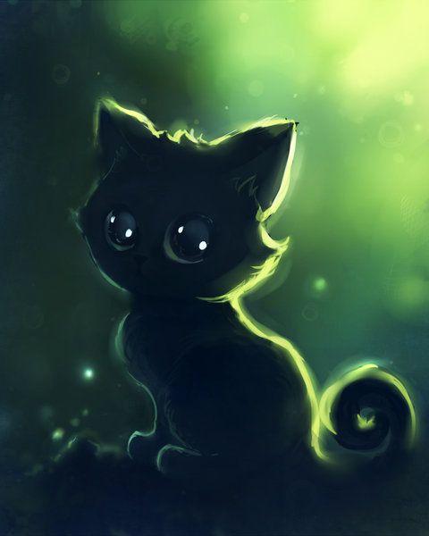 Pin By Stephanie Husband On Apofiss On Deviantart Cute Anime Cat Cat Art Anime Kitten