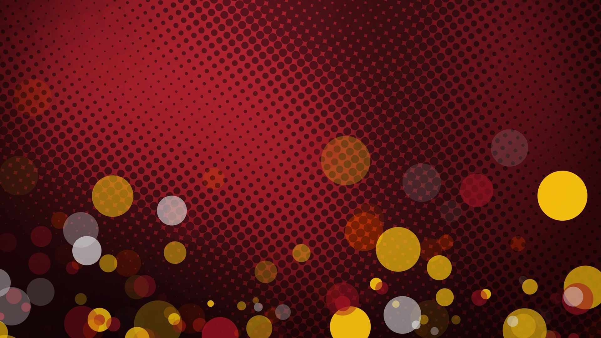 vector background design red HD - Abstract Design Bokeh ...