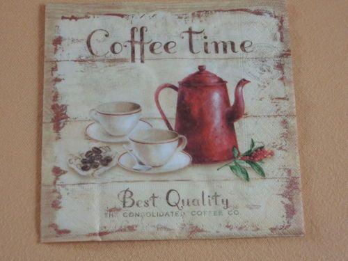 4-Servietten-Coffee-Time-Kaffee-Shabby-rot-1-4-geschirr-cafe-1-4-kanne-Kueche